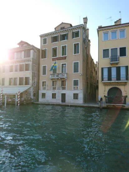 Svenska konsulat - Venedig